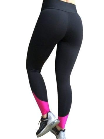 CAJUBRASIL 5668 Sexy Leggings Brazilian Goal Black