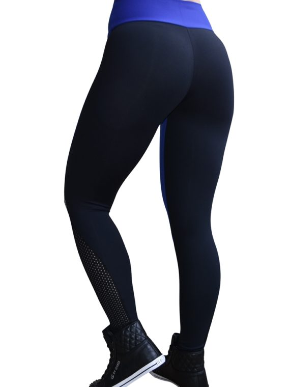 CAJUBRASIL 5922 Sexy Leggings Brazilian Tela Black Royal