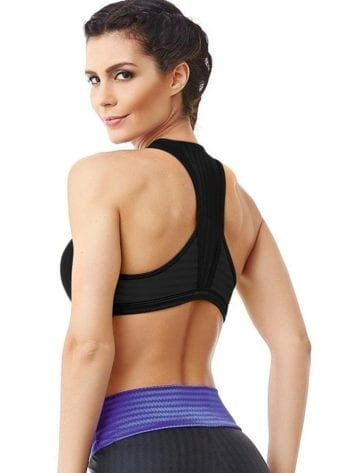 CAJUBRASIL 6260 Sexy Sports Bra Top Fusion Black