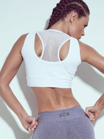 SUPERHOT Sexy Workout Tops Cute Yoga Sport Bra TOP745