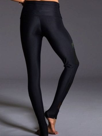 ONZIE 280 Sexy Yoga Workout Leggings  Bondage Khaki