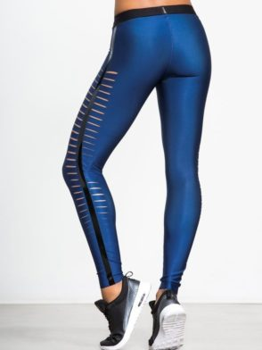 ULTRACOR Leggings Slash Navy Sexy Workout Clothes Yoga Leggings