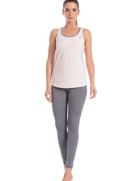 FREDDY WR.UP SHAPING EFFECT - LOW WAIST - SKINNY - D.I.W.O. TECHNICAL FABRIC INSERT + TANK TOP
