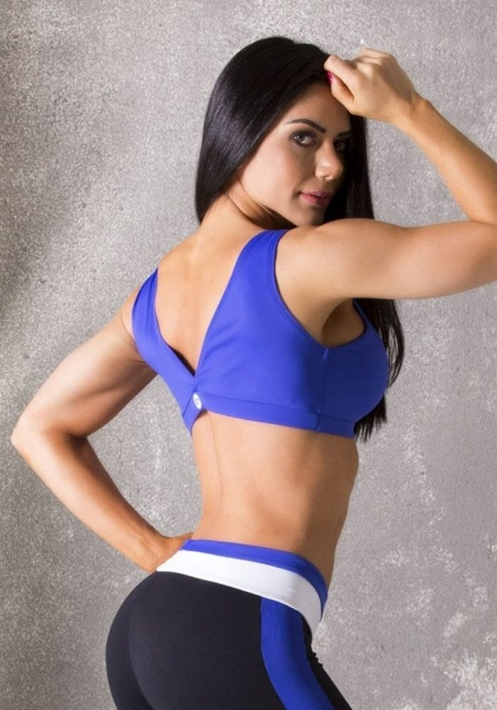 CANOAN  Sports Bra TOP 70102 Purple Sexy Workout Tops