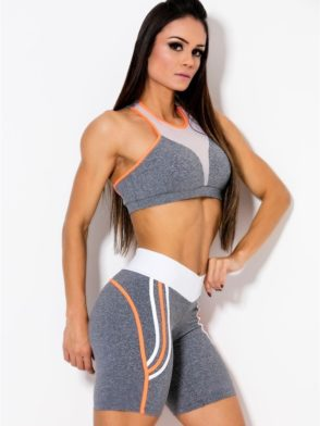 CANOAN Outfit Bra TOP 70152- Shorts 02152 Sexy Workout Set