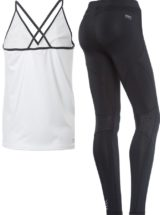 FREDDY WR.UP SHAPING EFFECT - LOW WAIST - SKINNY - D.I.W.O. TECHNICAL FABRIC - INSERT BEHIND KNEE WITH ALL-OVER PRINT + TANK TOP GIFT
