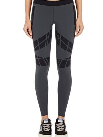 ULTRACOR Leggings Moto Contour Charcoal Sexy Workout Clothes Yoga Leggings