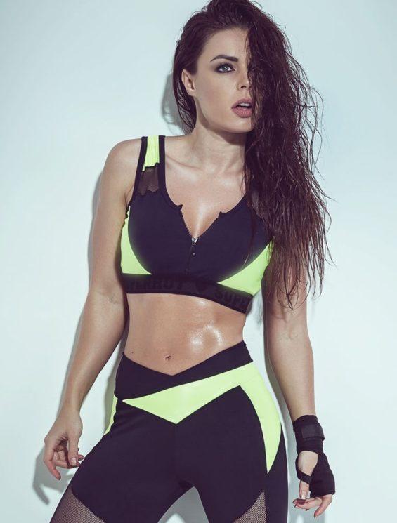 SUPERHOT Sports Bra TOP838 Sexy Workout Tops Cute Yoga Bra