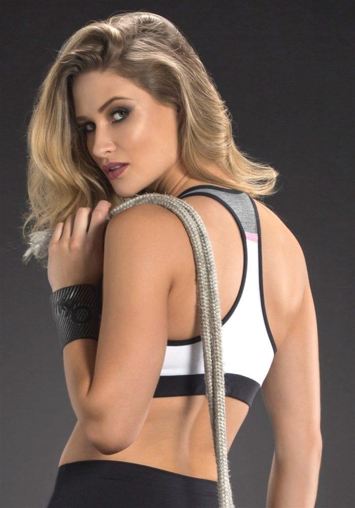 OXYFIT Bra Top Alley 27090 White Jersey- Sexy Sports Bras