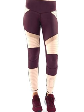 L'URV Leggings She Shimmers Leggings Raisin Sexy Workout Tights
