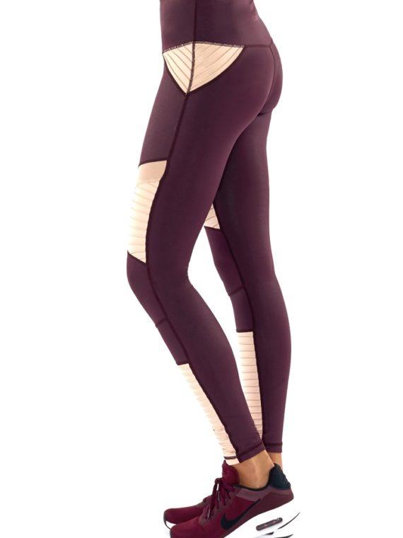4705105b8f195 ... L'URV Leggings She Shimmers Leggings Raisin Sexy Workout Tights