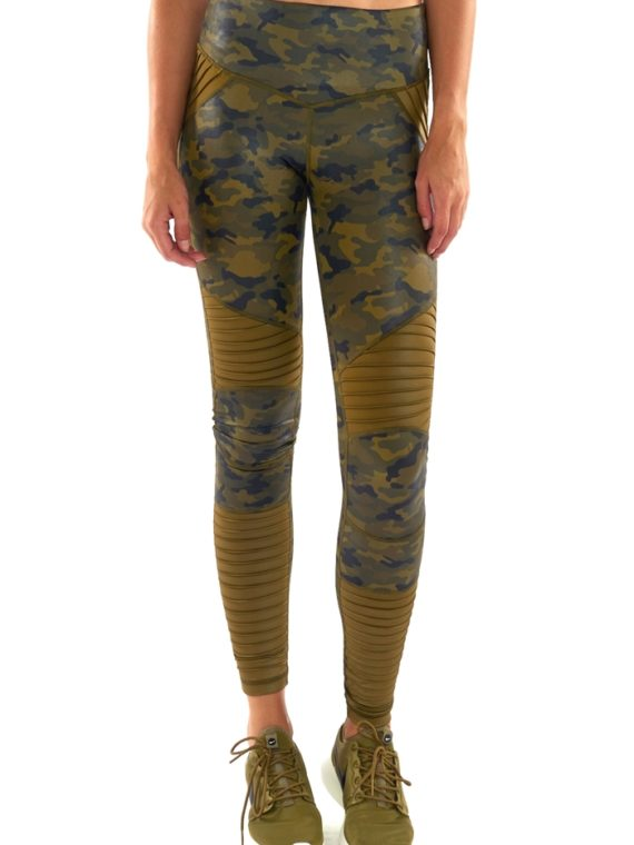 L'URV Leggings Lovers Army Moto Leggings - Sexy Workout Tights