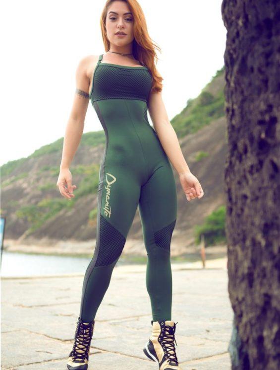 DYNAMITE Brazil Jumpsuit ML1998-0217 Nadador-Sexy One-Piece Romper