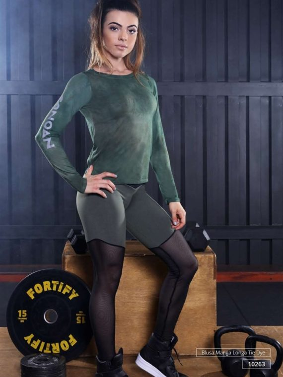 CANOAN  Leggings 11049 Military Mesh Sexy Workout Pants