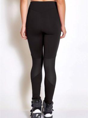 COLCCI FITNESS Leggings 25700231 Sexy Mesh Design Black