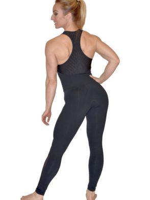 CAJUBRASIL 5683 Sexy Workout One-Piece Bodysuit Salt
