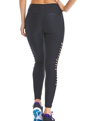 CAJUBRASIL Leggings 9054 Effect Sexy Leggings Brazilian BK