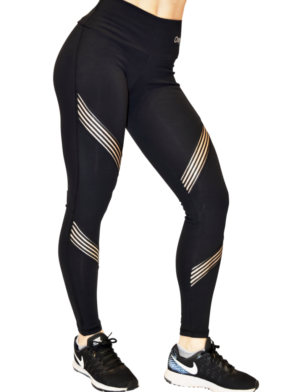 OXYFIT Leggings 64090 Hollywood- Sexy Workout Leggings Black