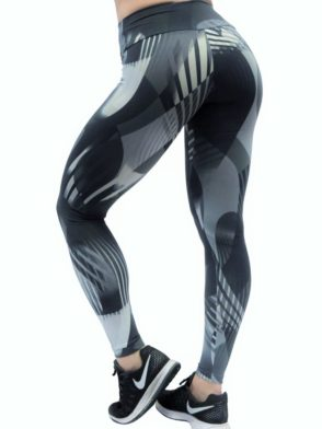OXYFIT Leggings Athleisure 64055 Graphite- Sexy Workout Leggings