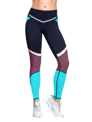 L'URV Leggings I Am a Dreamer Rasin Blue Sexy Workout Tights
