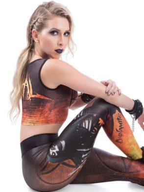 DYNAMITE BRAZIL Leggings L400 Heavy Metal-Sexy Workout Leggings