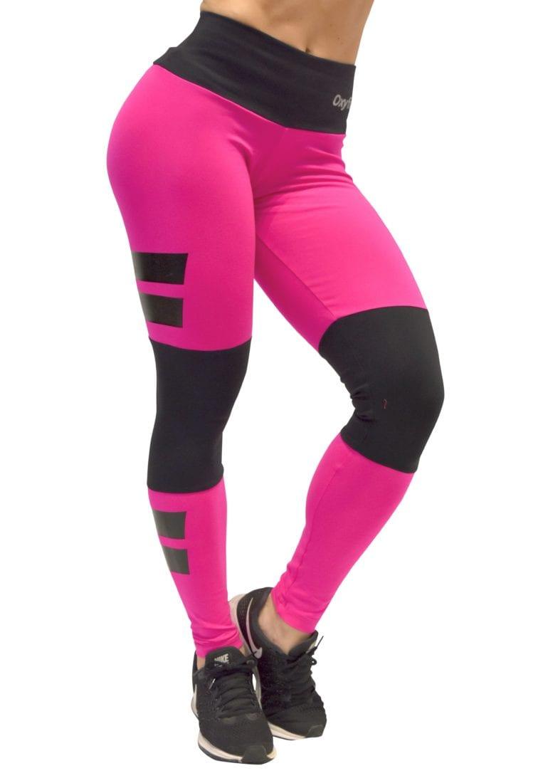 dfa831f8a5a6d OXYFIT Leggings Santorini 64081 Hot Pink - Sexy Workout Leggings ...