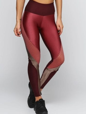 CAJUBRASIL Leggings 9050 Texture Sexy Leggings Brazilian Brown