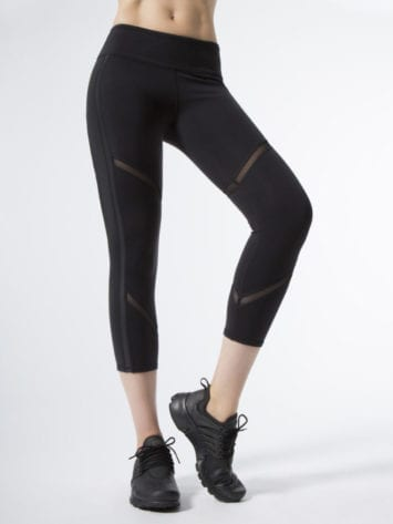 ALO Yoga Continuity Capri Sexy Leggings – Black