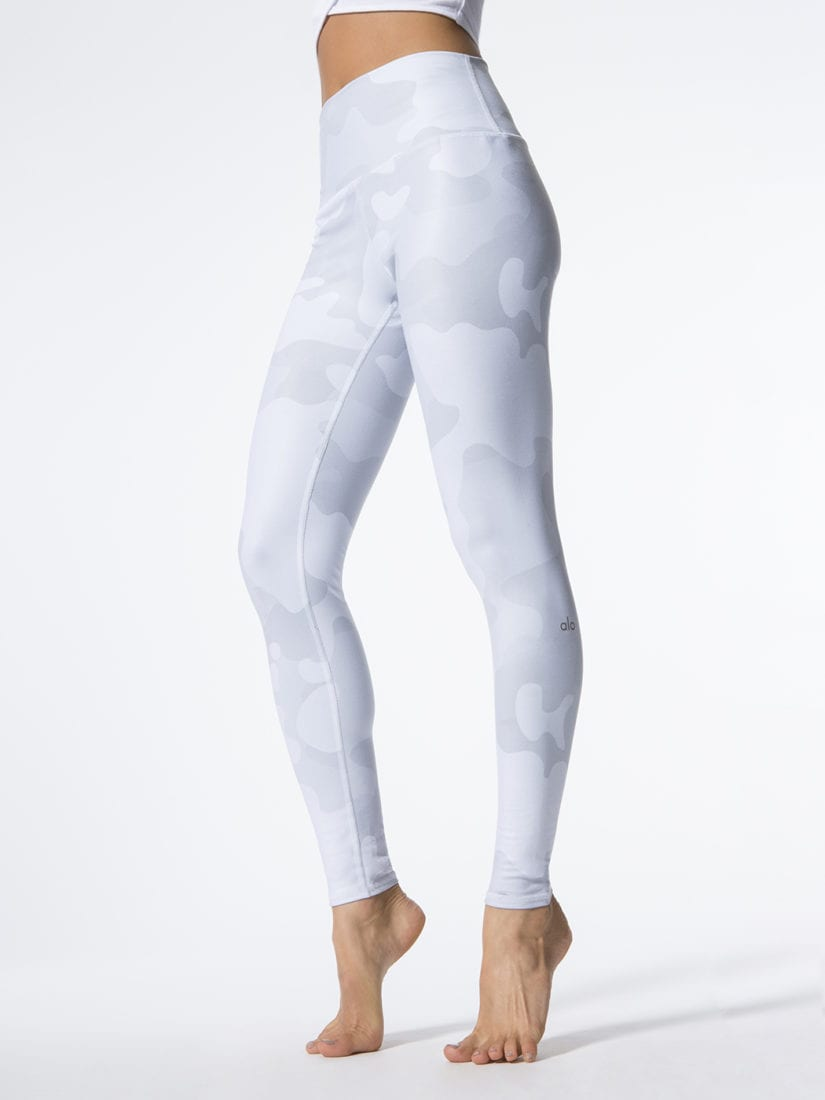 171005d421e2 ALO Yoga Airbrush Legging High-Waist Yoga Leggings Sexy Leggings White Camo