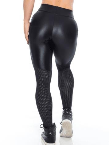 BOMBSHELL BRAZIL Leggings SEXY CLUBBER Black Mesh -Sexy Leggings