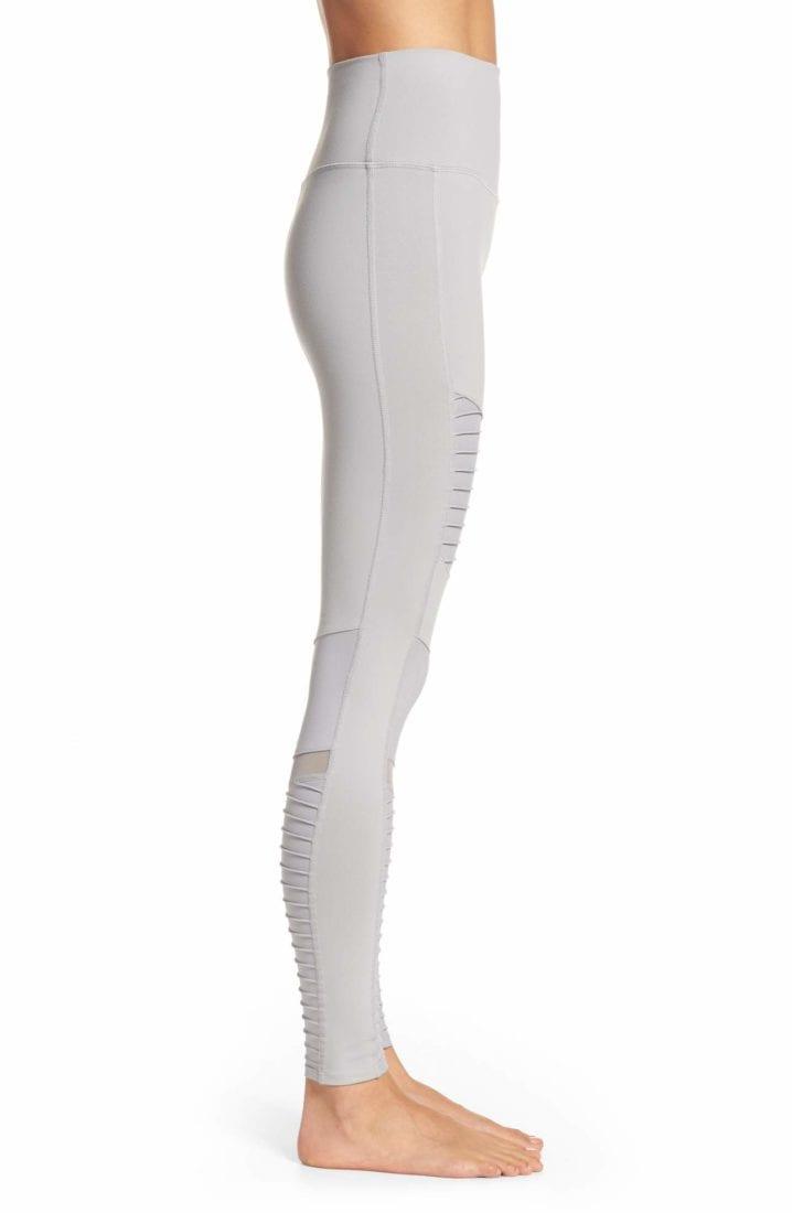 b520e5c2e5d75d ... ALO Yoga Sexy High-Waist Moto Yoga Leggings Sexy Pilates Leggings Alloy  _101693021