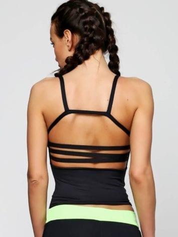 CAJUBRASIL-5925 Sexy Workout Top-Sexy Crop Top-Dance Top