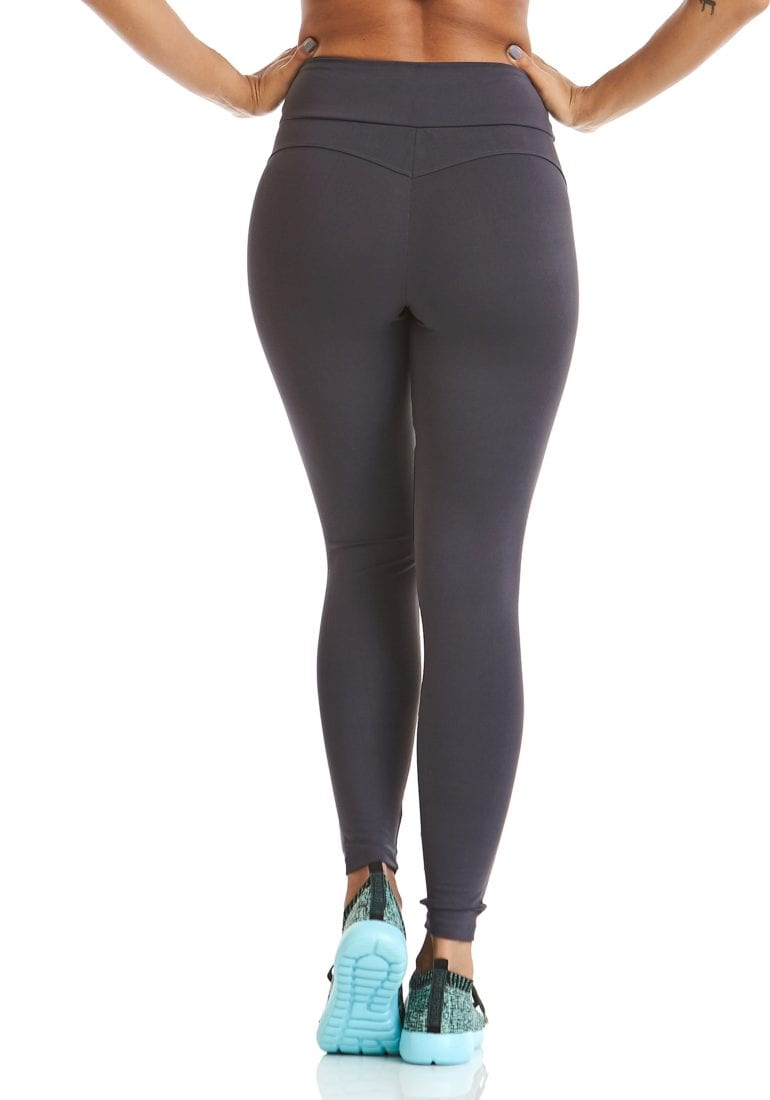7fedaf2d924c ... CAJUBRASIL Leggings 9622 Charcoal- Sexy Workout Clothes-Brazilian
