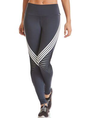 CAJUBRASIL Leggings 9646 Charcoal- Cute Workout Clothes-Brazilian
