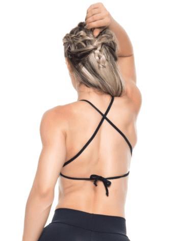 BOMBSHELL BRAZIL Sports Bra HOT GIRL - Jersey -Sexy Workout Top