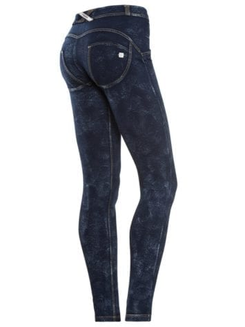 FREDDY WR.UP Shaping Effect – Regular Waist – Skinny – Denim Effect Marble