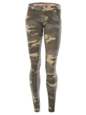 FREDDY WR.UP Shaping –  Camouflage Pattern Cotton -Shaping Effect – Low Waist – Skinny – light
