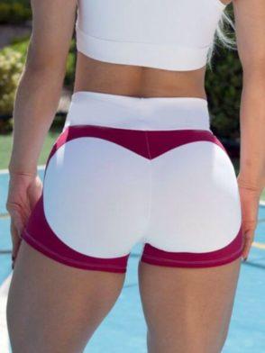BOMBSHELL BRAZIL Shorts Fabulous Marsala Apple Booty-Sexy Shorts
