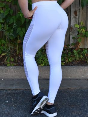 OXYFIT Leggings Score 64040 White- Sexy Workout Leggings