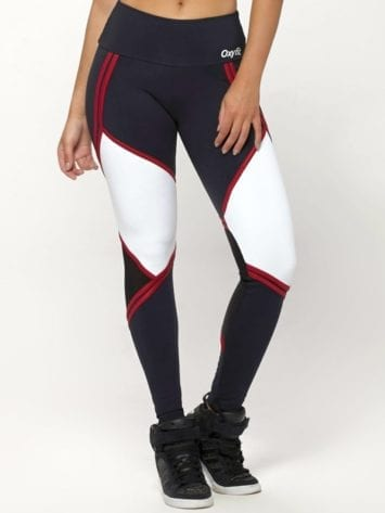 OXYFIT Leggings Will 64126 Black White- Sexy Workout Leggings