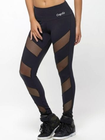 OXYFIT Leggings Jump 64127 Black- Sexy Workout Leggings
