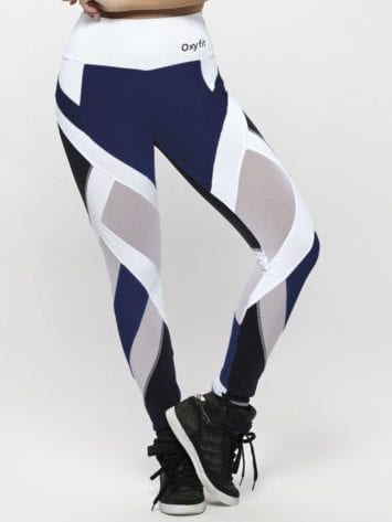 OXYFIT Leggings WOD 64129 Navy Black – Sexy Workout Leggings