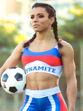 DYNAMITE BRAZIL Sports Bra Top T221 RUSSIA- Sexy Tops