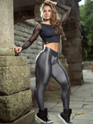 DYNAMITE Brazil Leggings - Fitness Cosmic Body Leggings L2013 Sexy Workout Leggings