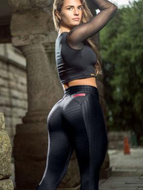 DYNAMITE Brazil Leggings – Fitness Black Lava Leggings L2013 Sexy Workout Leggings