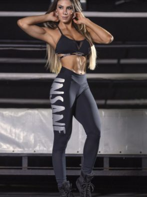 SUPERHOT Leggings CAL1343 INSANE Black Sexy Workout Leggings