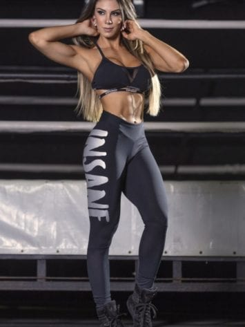 SUPERHOT Leggings CAL1343 INSANE Black Sexy Workout Leggings