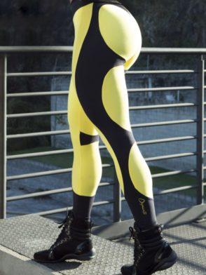 DYNAMITE Brazil Leggings L2094 APPLE YELLOW BOOTY – Sexy Workout Leggings