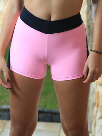 DYNAMITE BRAZIL Shorts SH2094 APPLE BOOTY PINK NEON-Sexy Shorts