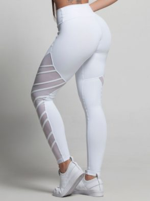 OXYFIT Leggings Thunder 64151 White- Sexy Workout Leggings